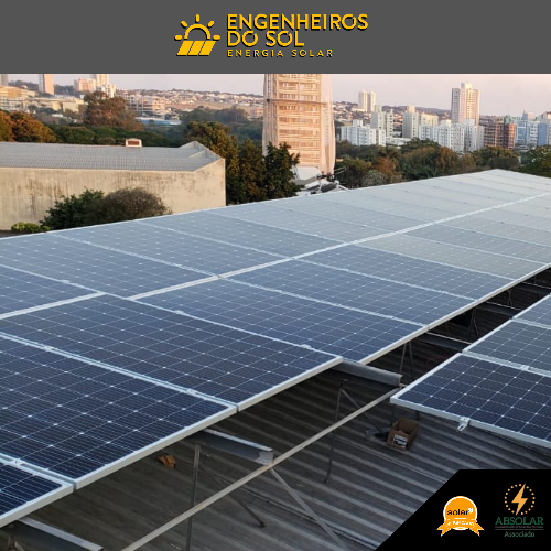 Projeto Energia Solar - Sistema fotovoltaico de 56 painéis - Maringá - PR