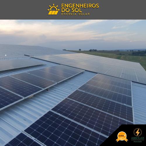 Projeto Energia Solar - Sistema fotovoltaico de 102 painéis - Iporã - PR