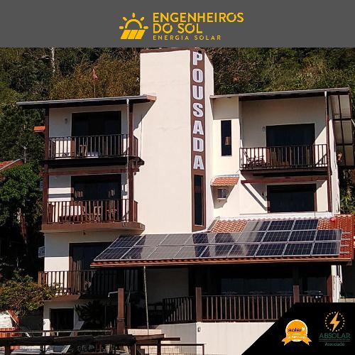 Projeto Energia Solar - Sistema fotovoltaico de 22 painéis - Bombinhas - SC