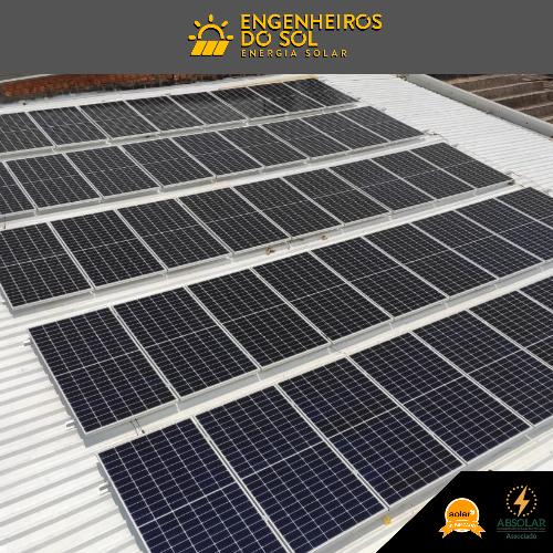 Projeto Energia Solar - Sistema fotovoltaico de 44 painéis - João Ramalho - SP