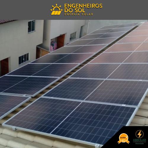 Projeto Energia Solar - Sistema fotovoltaico de 18 painéis - Tijucas - SC
