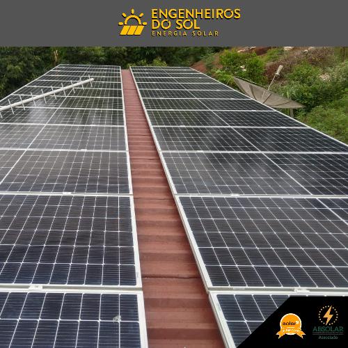 Projeto Energia Solar - Sistema Fotovoltaico de 32 placas - Crissiumal - RS