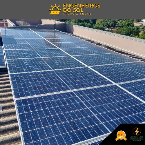 Projeto Energia Solar - Sistema Fotovoltaico de 23 placas - Crissiumal - RS